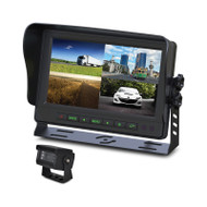 "Gator GT904SD GT Series Heavy Duty 9"" Quad Display Monitor and Camera Kit"