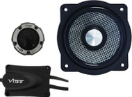 "Vibe LITEAIR4 4"" 210W 2-Way Car Component Speakers"