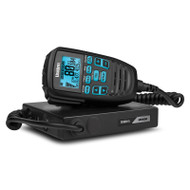 Uniden UH9080 Mini Compact UHF CB Mobile with Remote Speaker with Large LCD with Smart Mic Technology and Built in Scanner