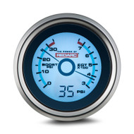 REDARC G52-BEP EGT & Boost Pressure 52MM Gauge with Optional Oil Pressure Display