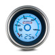 REDARC G52-PT Single Oil Pressure 52mm Gauge with Optional Temperature Display