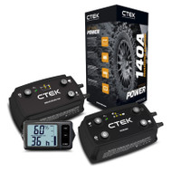 CTEK 140A 12V Off Road Bundle Dual-Battery Energy Management System