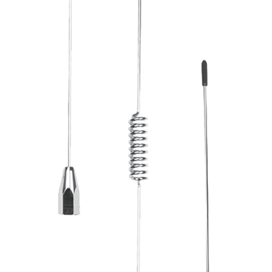 Uniden AT840 6.6 dBi Gain UHF Antenna - Elevated Feed and Stainless Steel Whip