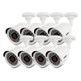 Uniden GDVR8280 Guardian DVR Security System with D1 Technology Including 8 Weatherproof Cameras