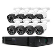 Uniden GCVR16H80 Guardian Hybrid Full HD 16 Channel DVR Security System with 8 Wired Weatherproof Cameras
