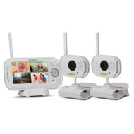 "Uniden BW3102 4.3"" Digital Wireless Baby Video Monitor with Remote Viewing Via Smartphone App with 2 Cameras"