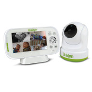 "Uniden BW3451R 4.3"" Digital Wireless Baby Video Monitor – Pan & Tilt with Remote Viewing Via Smartphone App"