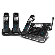 Uniden XDECT 8355 + 2 XDECT® Digital Technology with Integrated Bluetooth®, Power Failure Backup & USB Charging Cordless Phone System