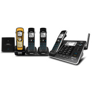 Uniden XDECT 8355 + 3WPR XDECT® Digital Technology with Integrated Bluetooth®, Power Failure Backup, USB Charging & Waterproof Cordless Phone System