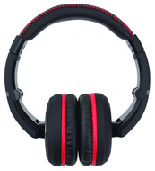Vibe VHBLACKDEATH3-V1 On-Ear Headphone With Flat Cable Extra Bass Lightweight