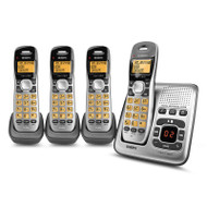 Uniden DECT1735+3 DECT Digital Phone System with Power Failure Backup