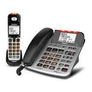 Uniden SS E47 + 1 Sight & Sound Enhanced Corded and Cordless Digital Phone System
