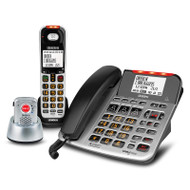 Uniden SS E47 + 1P Sight & Sound Enhanced Corded and Cordless Digital Phone System