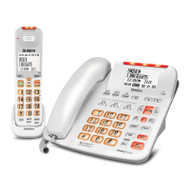 Uniden SSE47+1W Sight & Sound Enhanced Corded and Cordless Digital Phone System