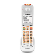 Uniden SS E07W Optional White Sight & Sound Enhanced Digital Cordless Handset for SSE 45/47 Series Cordless Phone