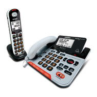 Uniden SS E37 + 1 Sight & Sound Enhanced Cordless and Corded Digital Phone System