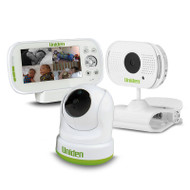 """Uniden BW 3451R + 1 4.3"""" Digital Wireless Baby Video Monitor – Pan & Tilt with Remote Viewing Via Smartphone App and Handy Clamp Camera"""