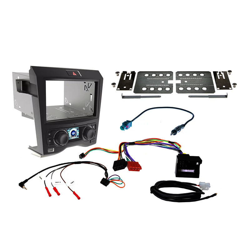 Aerpro FP9240K 2-DIN Stereo Install Kit Suit Ford Falcon AU Series 2/3 Black