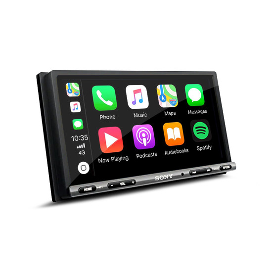 Sony XAV-AX3005DB 17.6 cm (6.95 inch) Apple CarPlay/Android Auto™ DAB Receiver