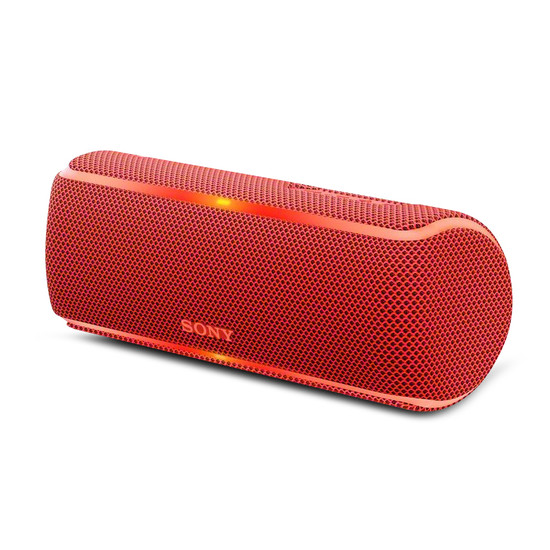 Sony SRSXB21R EXTRA BASS Portable Wireless Party Red Speaker
