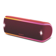 Sony SRSXB31R Extra Bass Waterproof Bluetooth Party Speaker - Red