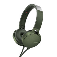 Sony MDRXB550APG Extra Bass Headphones Green