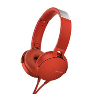 Sony MDRXB550APR Extra Bass Headphones Red