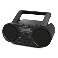 Sony ZSPS50 CD Boombox with AM/FM Radio Tuner and USB Playback