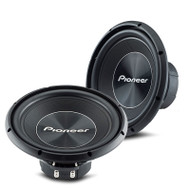 """Pioneer TS-A300S4 12″ 1500w """"A"""" Series Subwoofer with Single 4 Ohm Voice Coil"""