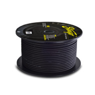 Stinger SPW18TB 76 Meter Roll 8GA Black Cable
