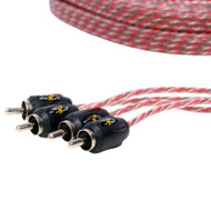 Stinger SI4417 5m 4000 Series 4 Channel RCA Interconnects
