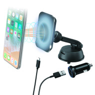 Aerpro APWMSHLD Magnetic Wireless Charger Kit - Suction