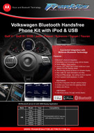 Volkswagen Integrated Bluetooth Hands Free Kit