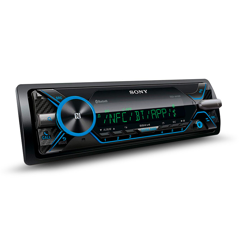 Sony MEX-N4200BT iPhone/Android/iPod/USB CD Receiver with Dual Bluetooth  Connectivity