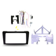 Kanatechs TBXE-T005 Black Professional Install Kit to Suit Mazda 3 2005-2009