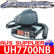 UNIDEN UH7700NB + AT780 80 CHANNEL ANTENNA UHF RADIO PACK WITH 3 YEAR WARRANTY