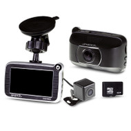 Gator GHDVR62R 2CH 1080P/720P HD Dash Cam - 8GB Micro SD Included