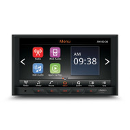 "Clarion FX508AU 6.75"" Mechless AV Receiver with Apple Carplay/Android Auto/BT/USB/Aux"