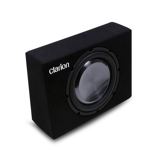 Clarion UB2520X 25cm (10″) Passive Subwoofer with Ultra Slim Bass-Refex Box