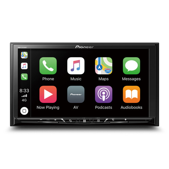 """Pioneer DMH-Z5150BT 7"""" Touch-Screen Multimedia Player with Apple CarPlay, Android Auto & Bluetooth"""