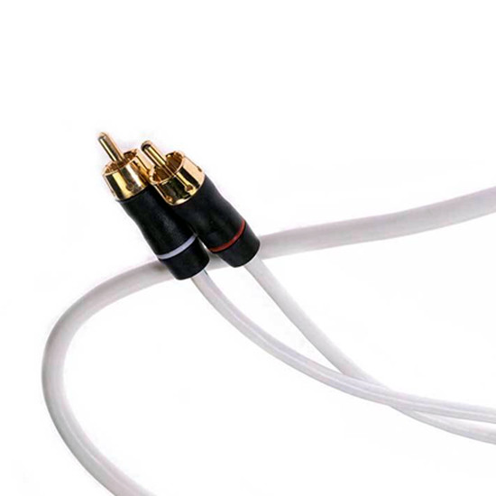 Fusion MS-RCA3 2 Channel 3ft/.91 High Performance RCA Cable