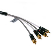 Fusion MS-FRCA25 2-Zone 4 Channel 25ft/7.6m Audio Interconnect Cable