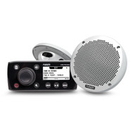 "Fusion MS-RA55KTS Stereo with MS-EL602 6"" 2 Way Speaker Pack"