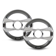 "Fusion MS-FR6GSP 6"" Pair Grey Spoke Grills for MS-FR4021"