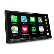 "Kenwood DMX8019DABS 7"" Resistive Touch Screen AV Receiver with Wireless Apple Carplay and Android Auto"