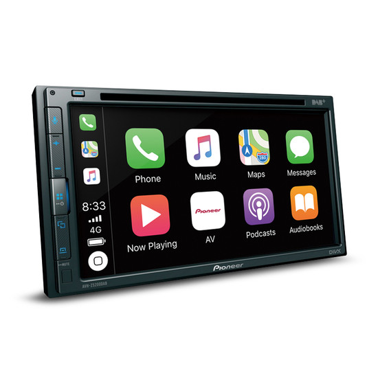 """Pioneer AVH-Z5200DAB 6.8"""" Touch-Screen Multimedia Player w/ Apple CarPlay/Android Auto & Bluetooth"""
