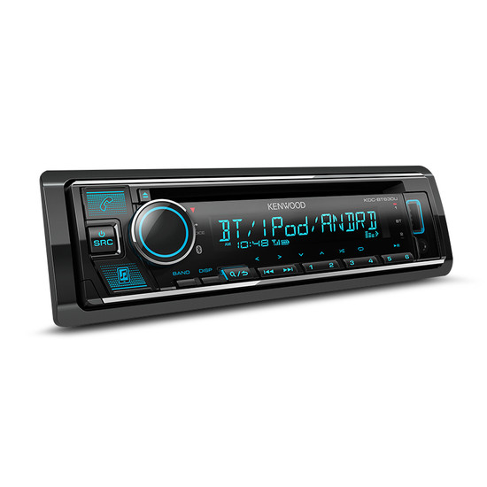 Kenwood KDC-BT630U CD/BT/iPod/USB Audio Receiver