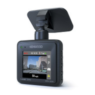 KENWOOD DRV-330 Full HD Compact Stand-Alone Dash Cam with GPS
