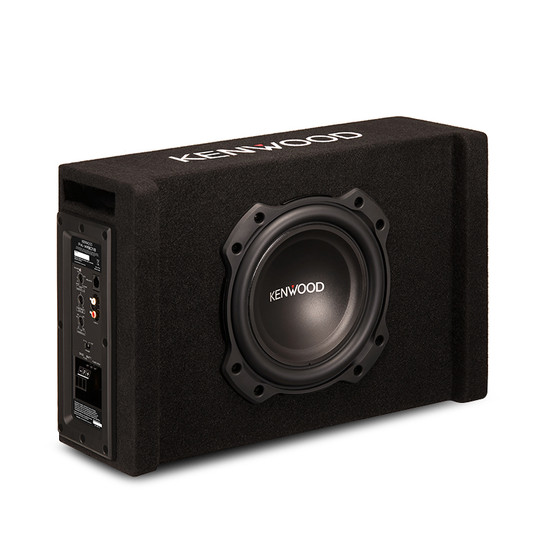 "Kenwood PA-W801B 400W 8"" Oversized Subwoofer in Ported Enclosure"
