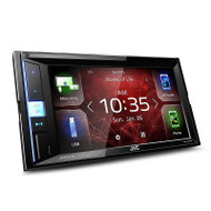 "JVC KW-M450BT 6.8"" Mechless 2-DIN Multimedia System with Bluetooth/Android/USB and Spotify Control"